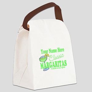 Classic Margaritas Canvas Lunch Bag