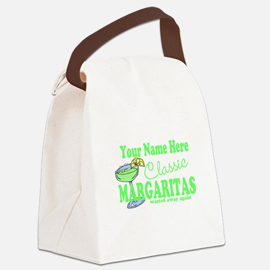 Classic Margaritas Canvas Lunch Bag