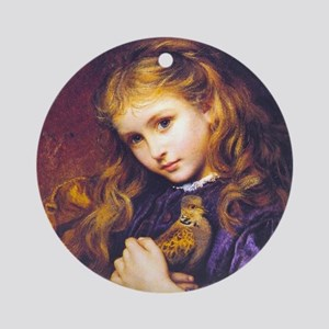 My Turtledove, Sophie Anderson Ornament (Round)