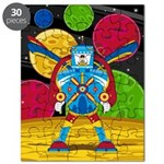 Spaceman and Mecha Robot Puzzle