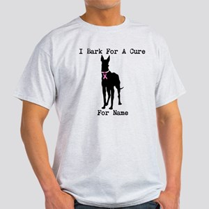 Great Dane Personalizable I Bark For A Cure Light
