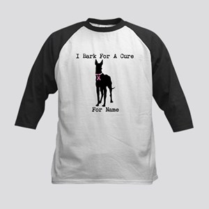 Great Dane Personalizable I Bark For A Cure Kids B
