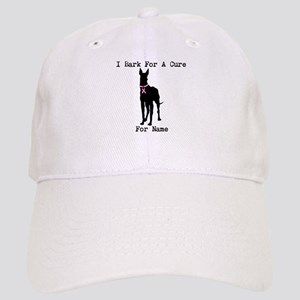 Great Dane Personalizable I Bark For A Cure Cap