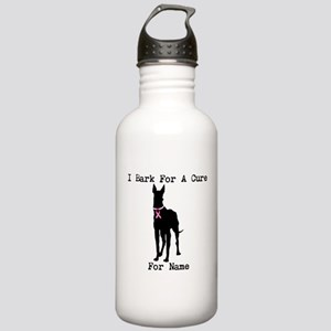 Great Dane Personalizable I Bark For A Cure Stainl