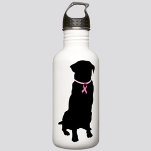 Golden Retriever Breast Cancer Support Stainless W