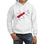 French Army Knife Hooded Sweatshirt
