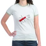 French Army Knife Jr. Ringer T-Shirt