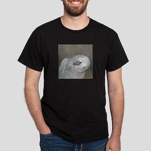 African Grey Dex Dark T-Shirt