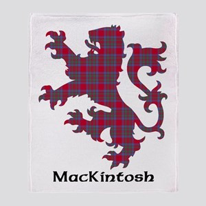 Lion-MacKintosh Throw Blanket