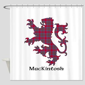 Lion-MacKintosh Shower Curtain