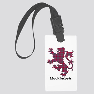 Lion-MacKintosh Large Luggage Tag