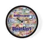 Delete 3 Zeros Wall Clock