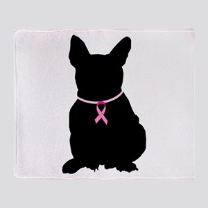 French Bulldog Breast Cancer Support Stadium Blan