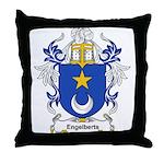 Engelberts Coat of Arms Throw Pillow