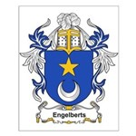 Engelberts Coat of Arms Small Poster