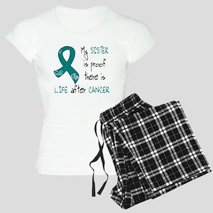teal sister life Women's Light Pajamas