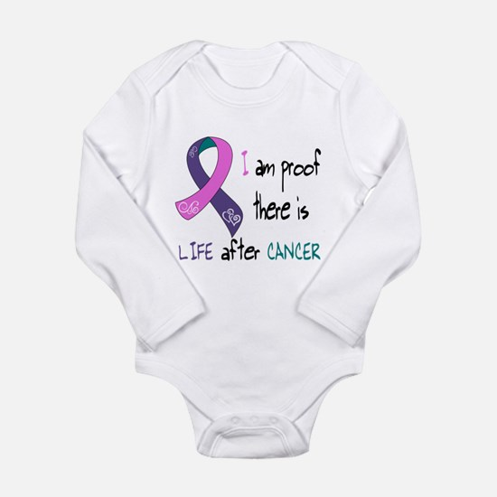 tri I life.png Long Sleeve Infant Bodysuit
