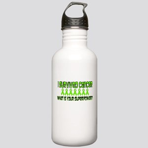 Lime Superpower Stainless Water Bottle 1.0L