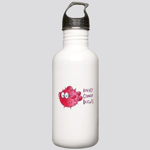 Breast Cancer Blows Stainless Water Bottle 1.0