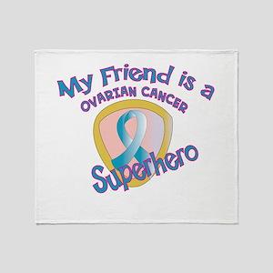Friend Ovarian Cancer Superhero Stadium Blank