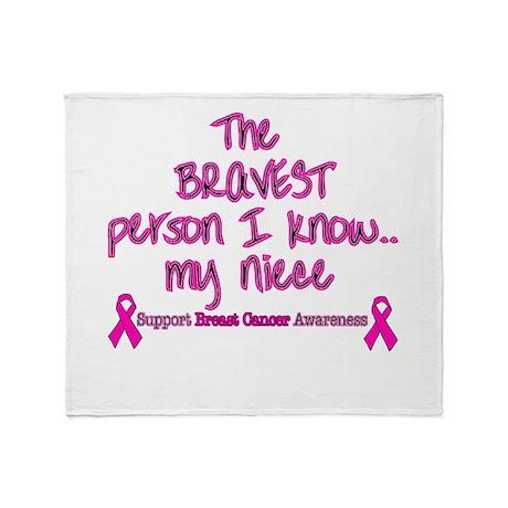 Pink Niece Brave.png Throw Blanket