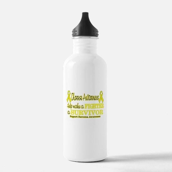 Sarcoma Fighter Survivor.png Water Bottle