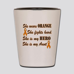 She is Aunt Orange Hero Shot Glass