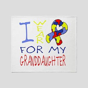 For my Granddaughter Throw Blanket