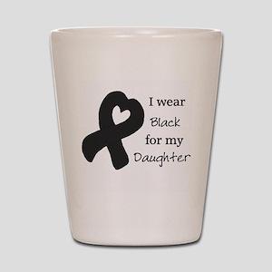 Wear Black Daughter Shot Glass