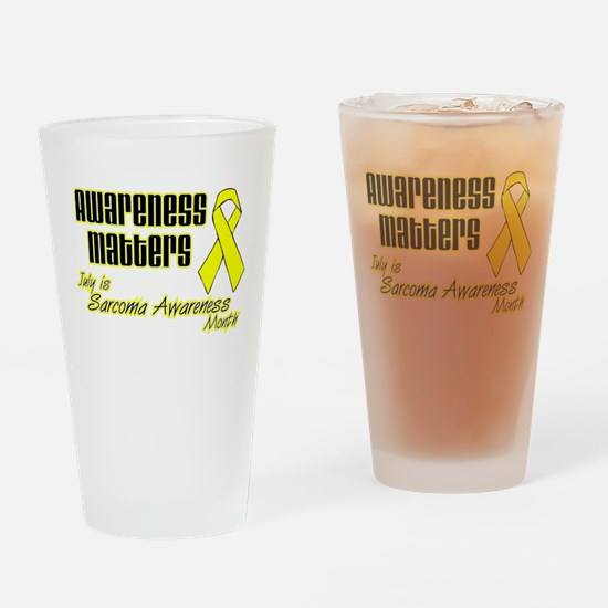 Sarcoma Awareness Matters.png Drinking Glass