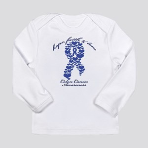 Colon Cancer Awareness Long Sleeve Infant T-Shirt
