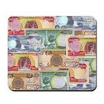 Iraqi Dinar 3 Zero Notes Mousepad