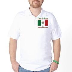 Cinco De Mayo Mason Golf Shirt