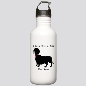 Dachshund Personalizable I Bark For A Cure Stainle