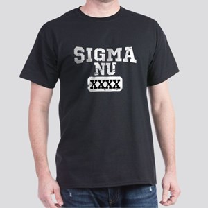 Sigma Nu Athletics Personalized Dark T-Shirt