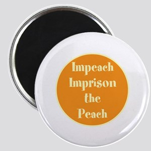 Impeach! Imprison! no trump Magnets