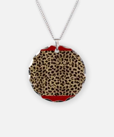 Cheetah Charm Necklace