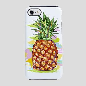 Cute PineApple Illustration iPhone 7 Tough Case