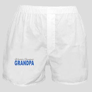 Worlds Greatest Grandpa Boxer Shorts