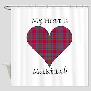 Heart-MacKintosh Shower Curtain