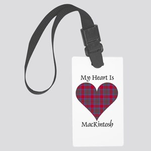 Heart-MacKintosh Large Luggage Tag