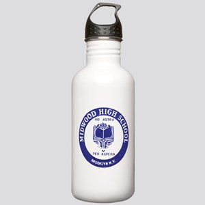 Historic Midwood Stainless Water Bottle 1.0L