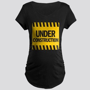 underdrk copy Maternity Dark T-Shirt