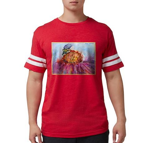 Bee! Bee on flower, art! Mens Football Shirt