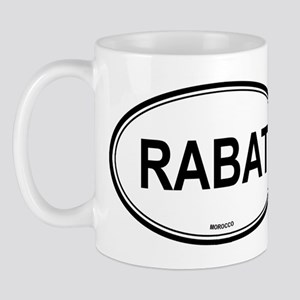 Rabat, Morocco euro Mug