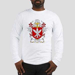 Van Cleef Coat of Arms Long Sleeve T-Shirt