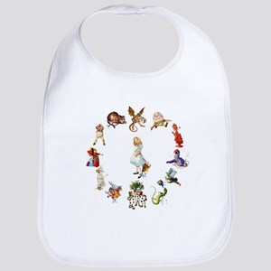 Alice Through The Looking Glass Bib