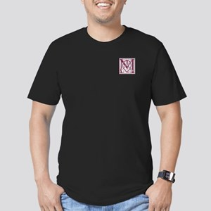 Monogram-MacKintosh Men's Fitted T-Shirt (dark)