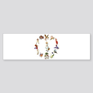 Alice Through The Looking Glass Sticker (Bumper)
