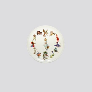 Alice Through The Looking Glass Mini Button
